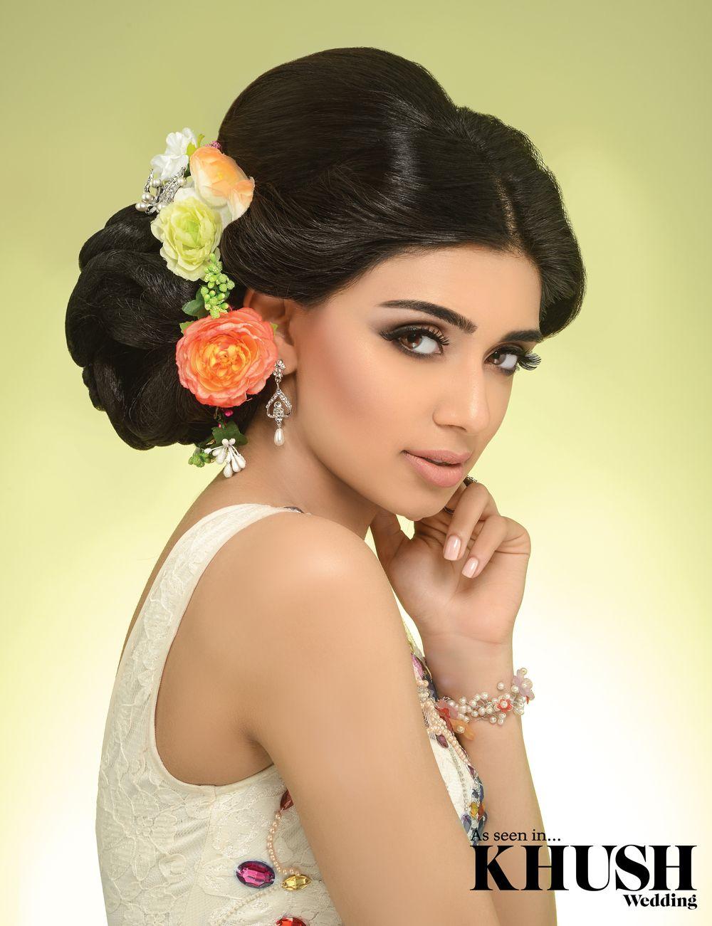 flawless hair and makeup by asian bridal makeup:henna:hair