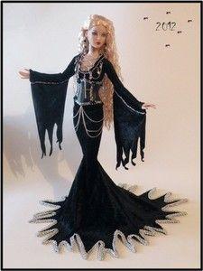 Goth tonner doll