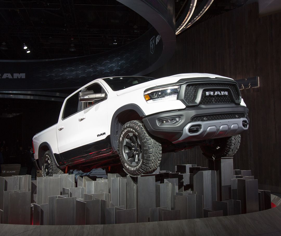 The Fully Redesigned 2019 Dodge Ram 1500