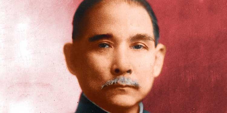 2 aprile 1912 Sun Yat-sen fonda il Partito nazionalista cinese