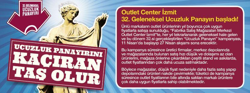 Ucuzluk panayırını kaçıran taş olur! Outlet Center İzmit 32. Geleneksel Ucuzluk Panayırı başladı!