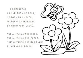 Trabajando En Educacion Infantil 10 Poesias De La Primavera Para Colorear Poesia De La Primavera Poemas Para Ninos Poemas Cortos Para Ninos