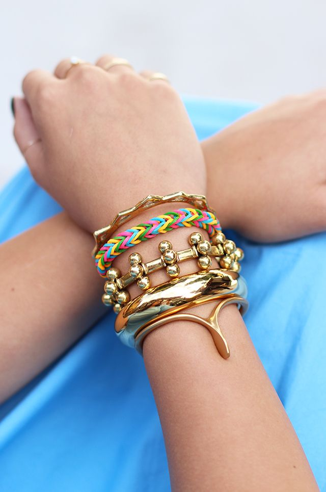 how to make loom bands with fingers easy