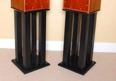 Platform Series Lower Speaker Stands Wood Design Wood