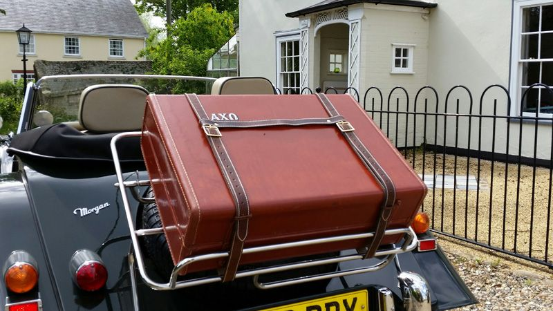 Leather Luggage Straps for Classic Cars (Morgan and MG specialists ...