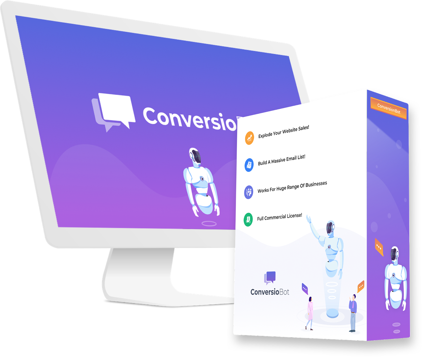 ConversioBot Discount SAVE 10 Chatbot, App