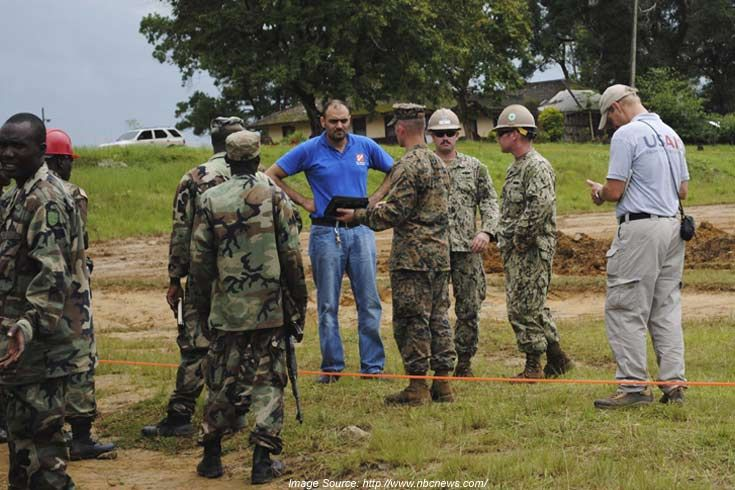 Dozens of U.S. Troops in Liberia Exposed To Ebola Infection