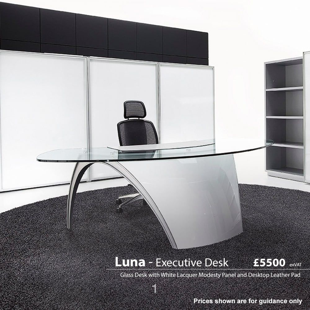 Executive office table with glass top  executive glass desk  furniture for home office check more at