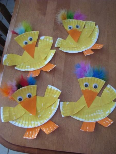 Paper Plate Duck Craft Idea For Kids First Grade Fun Pinterest