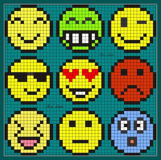 Image Du Blog Looms Centerblog Net Pixel Art Facile Pixel Art