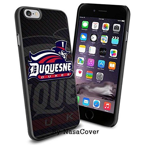 NCAA University sport Duquesne Dukes , Cool iPhone 6 Smartphone Case Cover Collector iPhone TPU Rubber Case Black [By NasaCover] NasaCover http://www.amazon.com/dp/B0140NCI16/ref=cm_sw_r_pi_dp_zk43vb1666AX2