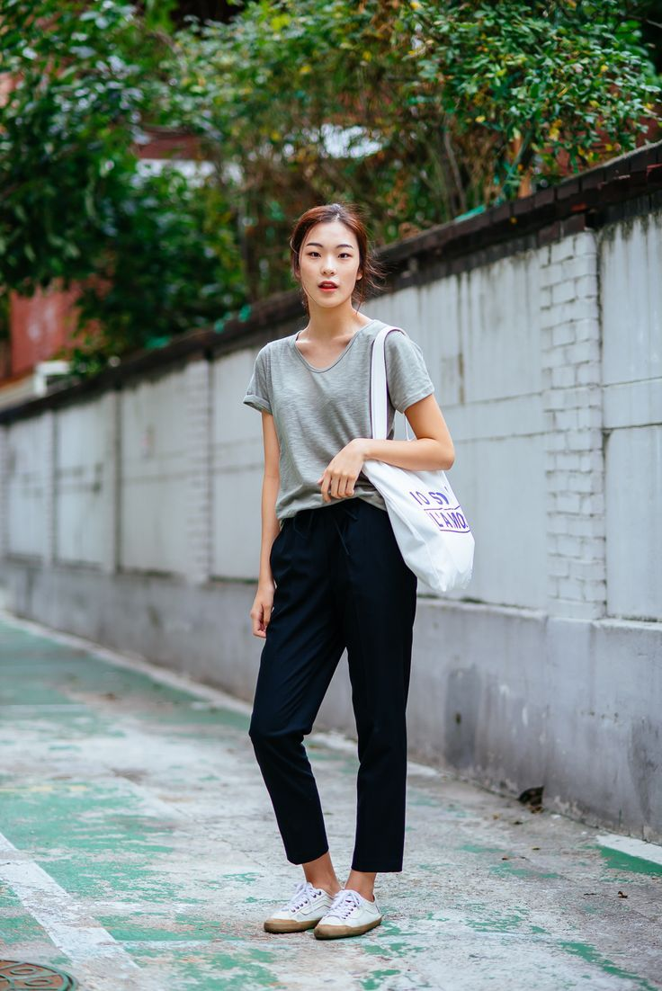 Simple minimal comfortable wear pinterest style fashion