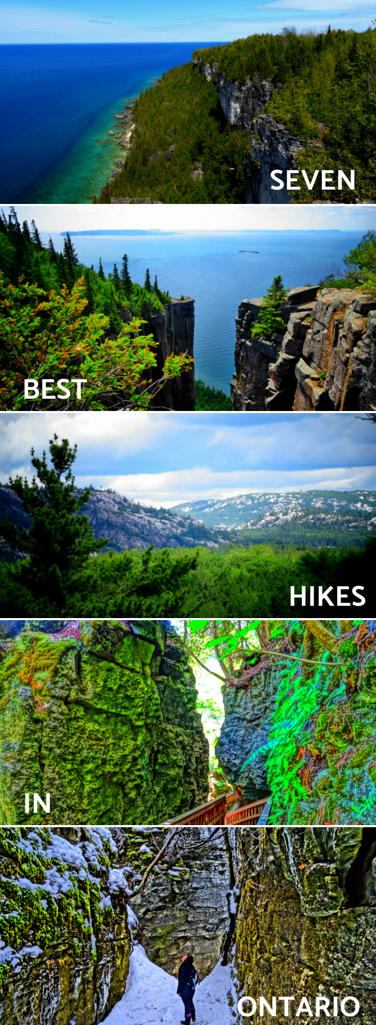 Best Hikes in Ontario with Awesome Views #hikingtrails