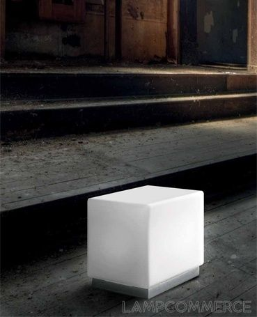 #Leucos #Cubi table lamp Design Mammini Candido