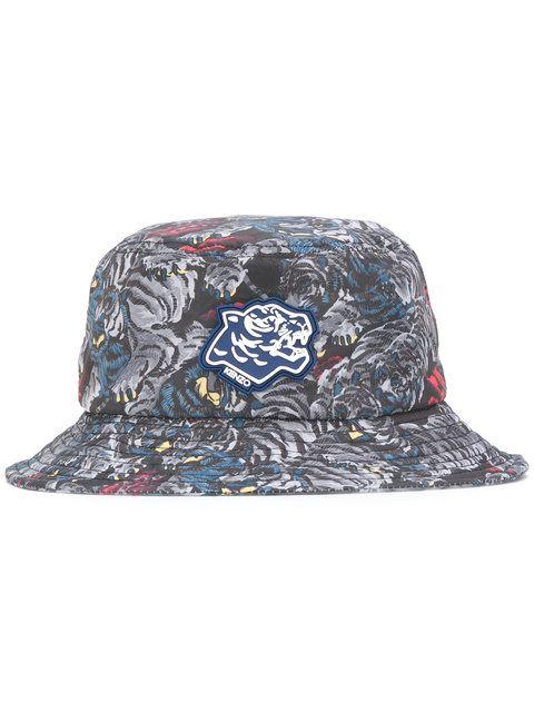 KENZO tiger print bucket hat.  kenzo  hat  34285a64b9b