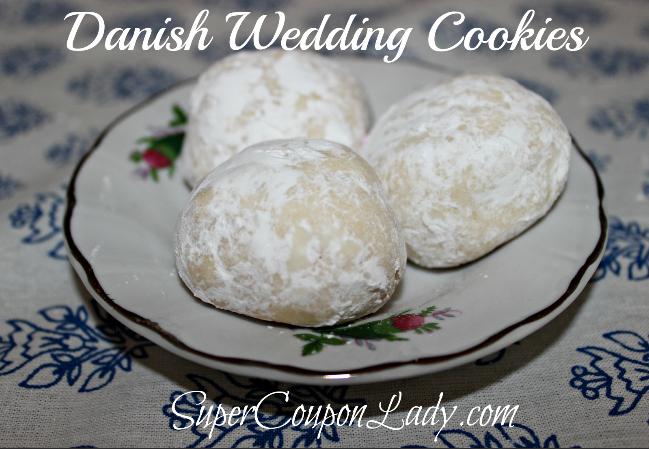 Danish Wedding Cookies Recipe Danish Wedding Cookies Danish