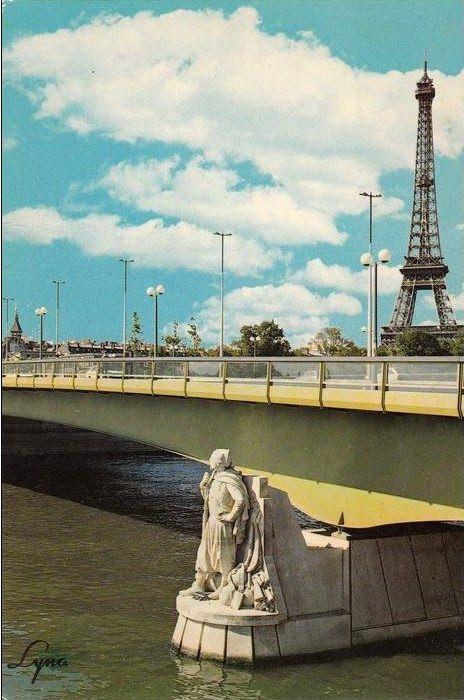 Paris Bise Art Le Chasseur Du Pont De L Alma Paris