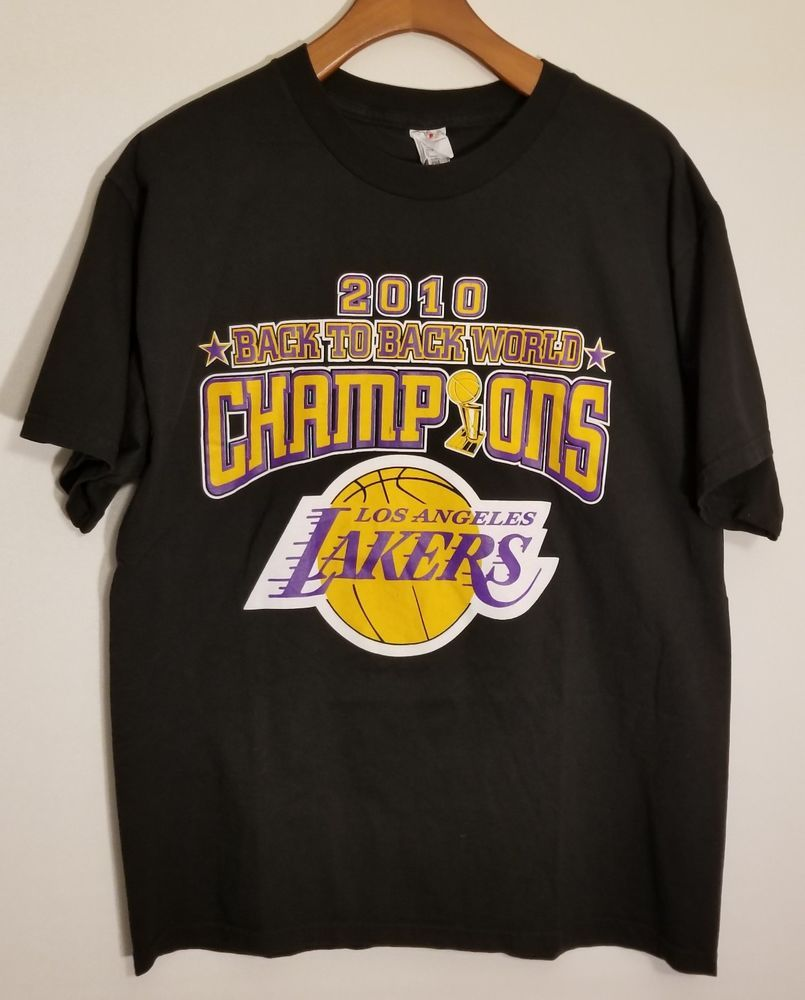 Vtg Los Angeles La Lakers 2010 Nba Champions T Shirt Kobe Bryant Large Mens Unbranded Losangeleslakers Nba Champions Kobe Bryant La Lakers