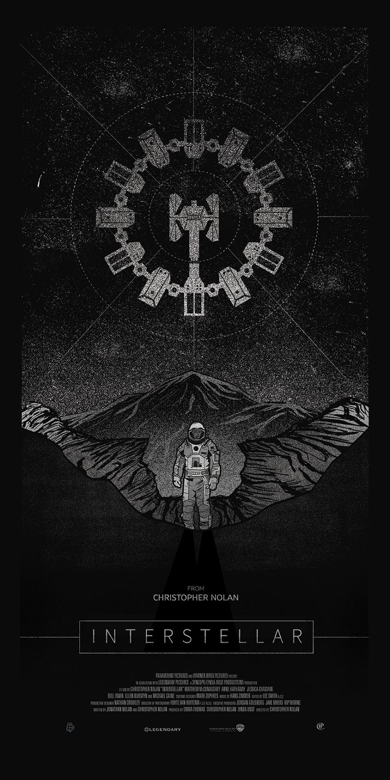 InterstellarbyHarlanElampng Nice Poster Cover - Beautifully designed interstellar posters james fletcher