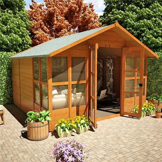The BillyOh 4000 Lucia Summerhouse Range | She-Sheds ❤ | Pinterest