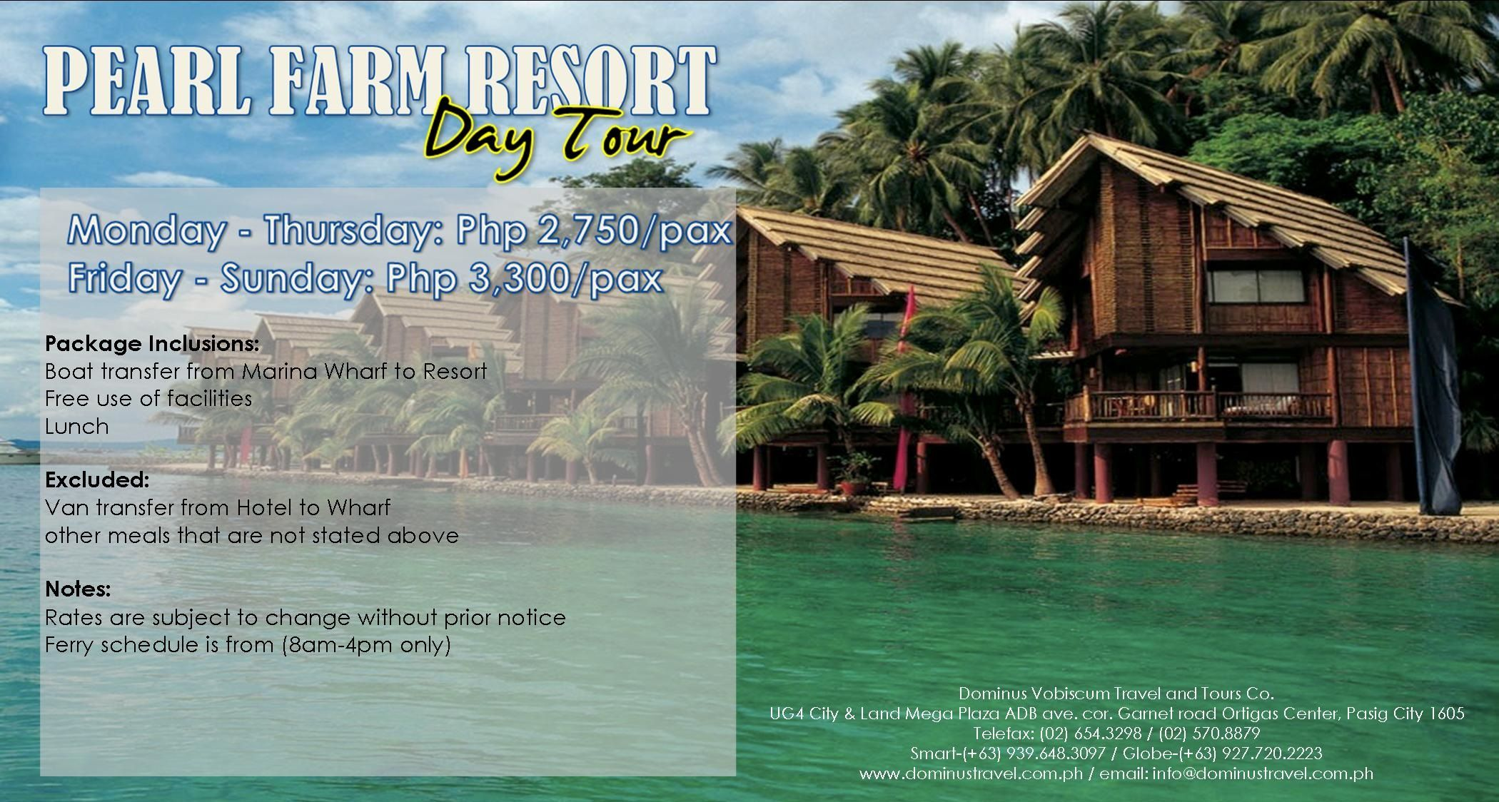 Pearl Farm Resort Day Tour Davao With Images Day Tours