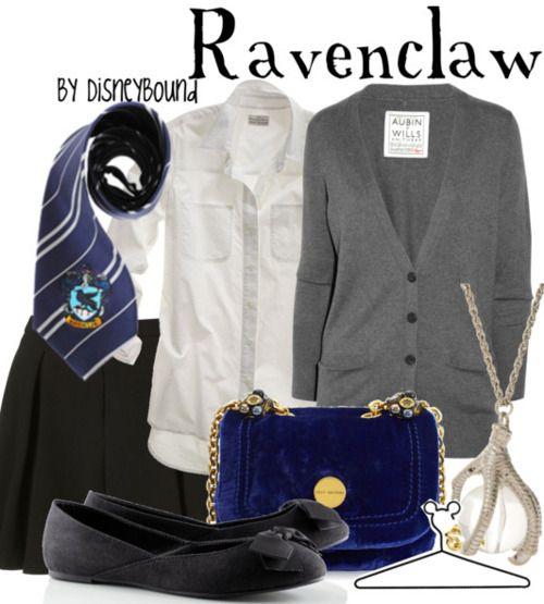 Ravenclaw by Disneybound