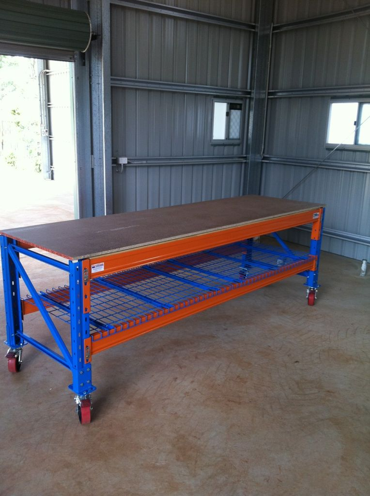Heavy Duty Workstation On Wheels Workbenches In 2019
