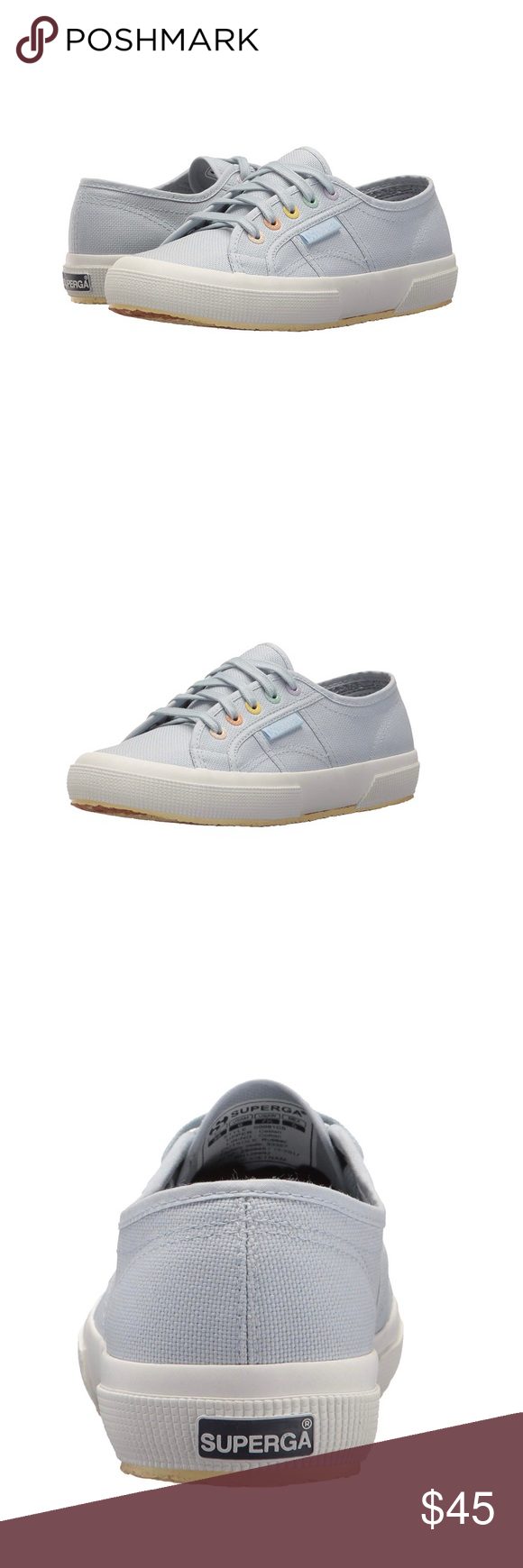 ab310cd39b657 ✨Superga Women's 2750 Multi Color Eyelets Sneaker Brand new with ...