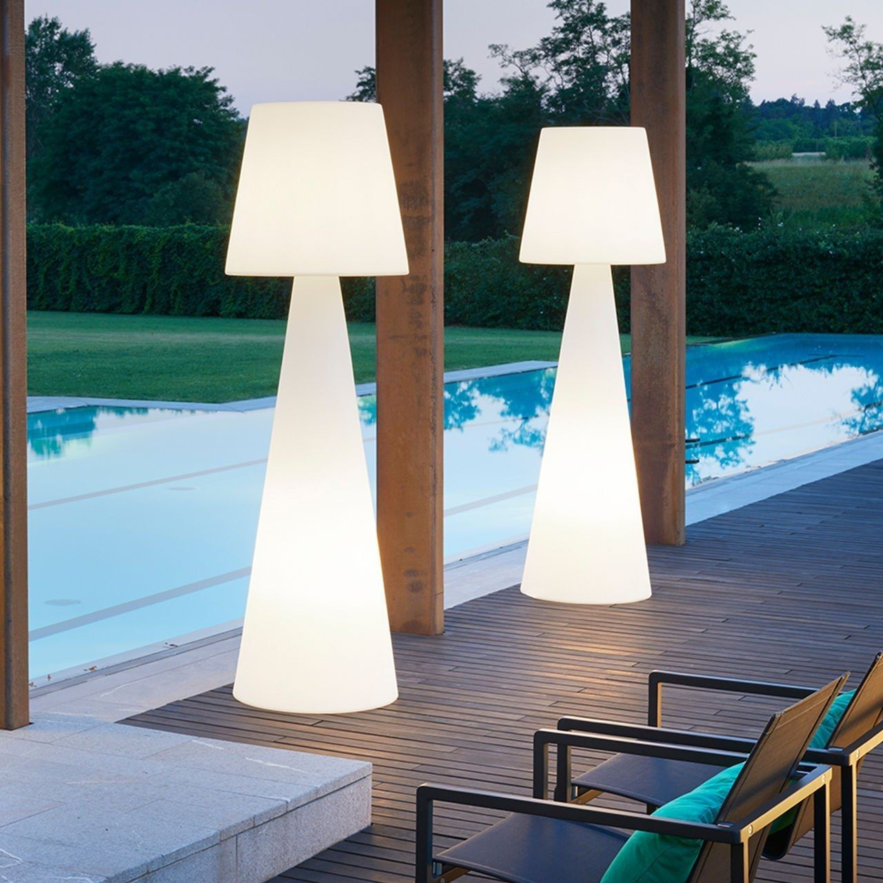 Outdoor Stehlampe Stehlampe Luce Lampen Pinterest Armin