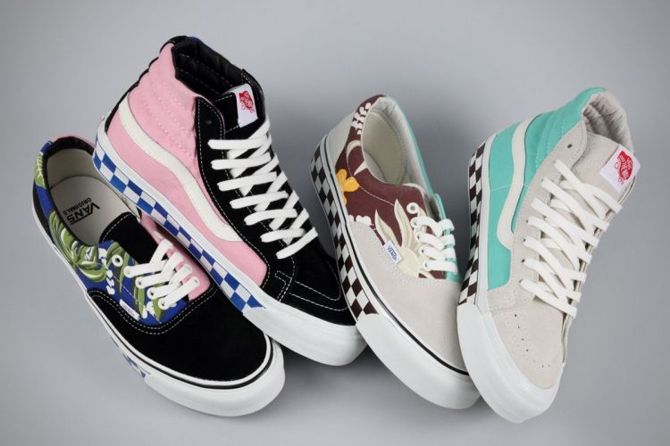 Vans Vault OG Era and Sk8-Hi LX Spring Pack 2013