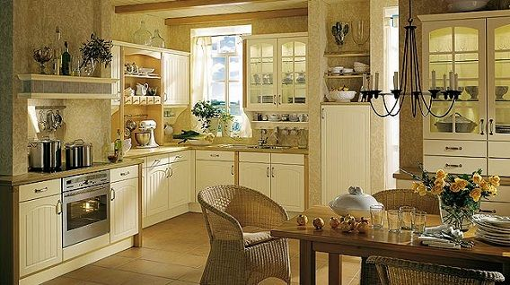 Charmant French Country Kitchen Cabinets | French Country   Unfitted Cabinetry Look  And Ornamental Work Depicts .