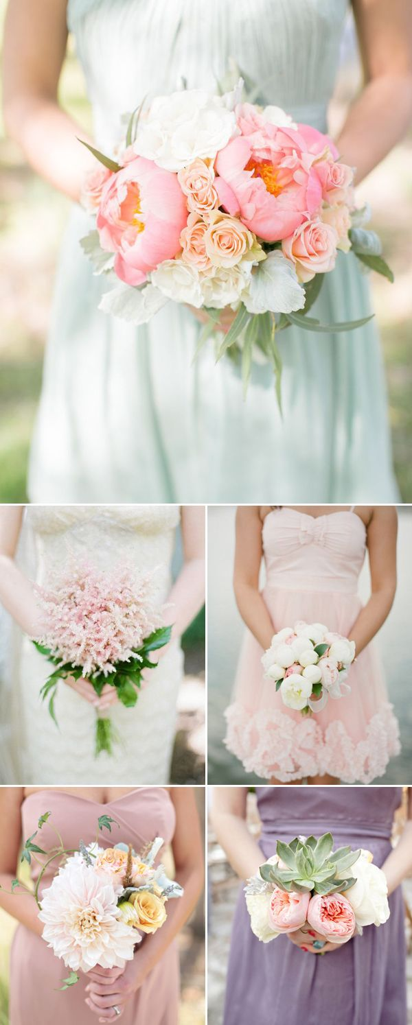 19 Lovely Bridesmaid Bouquets | Lovelies, Accent colors and Small ...
