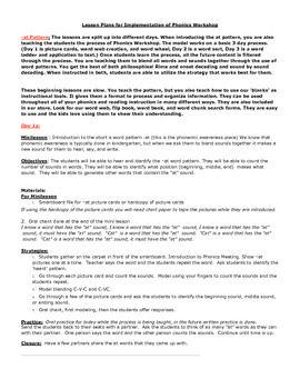 phonics lesson plan - Khafre