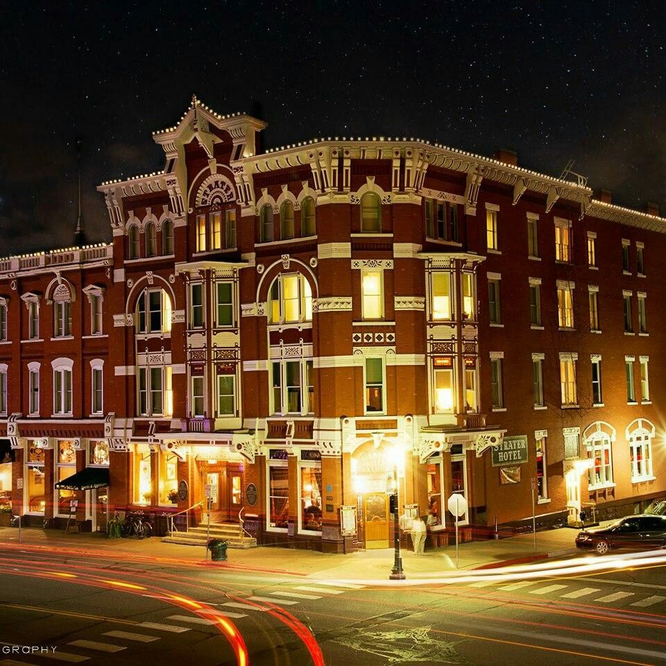 Strater Hotel In Durango Colorado. Reported