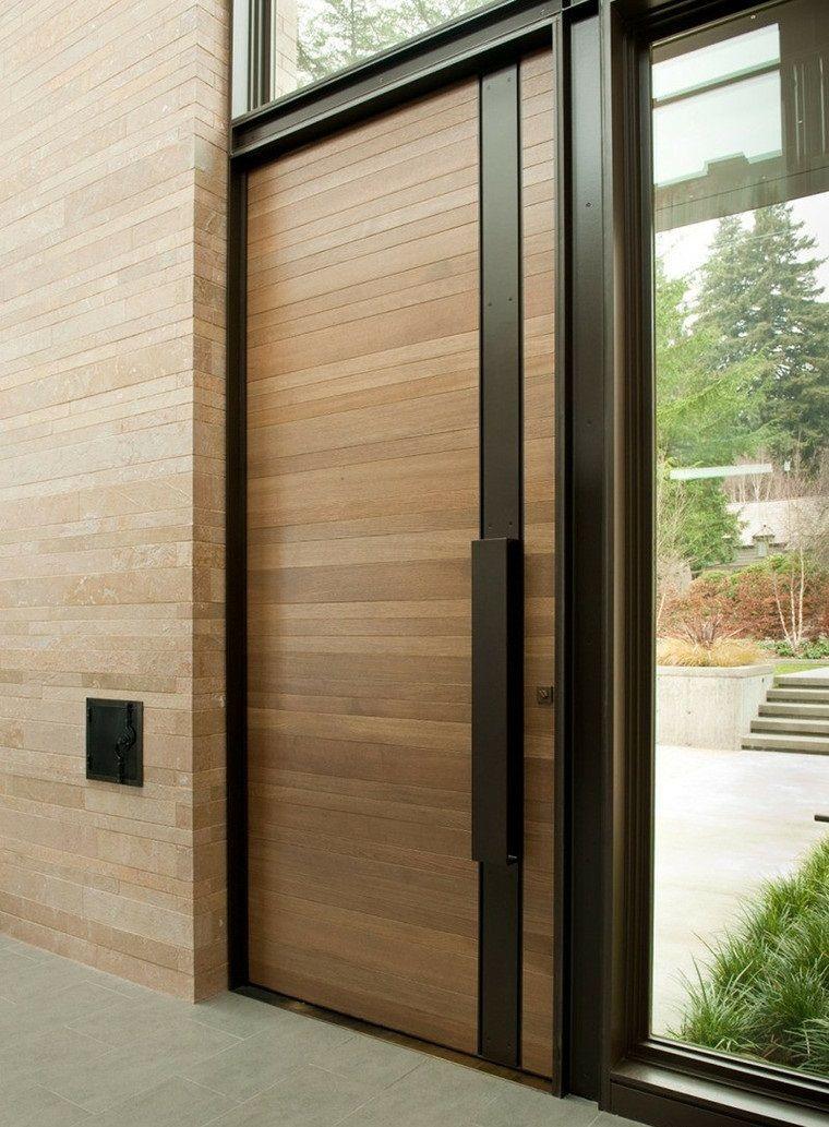 puertas entrada casa moderna y elegante Decoración Pinterest - puertas de entrada