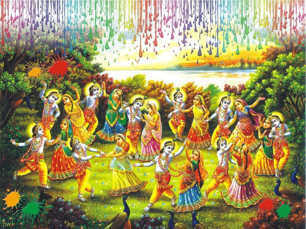 Happy holi radha krishna images - Holi Radha Krishna Wallpaper Free Download