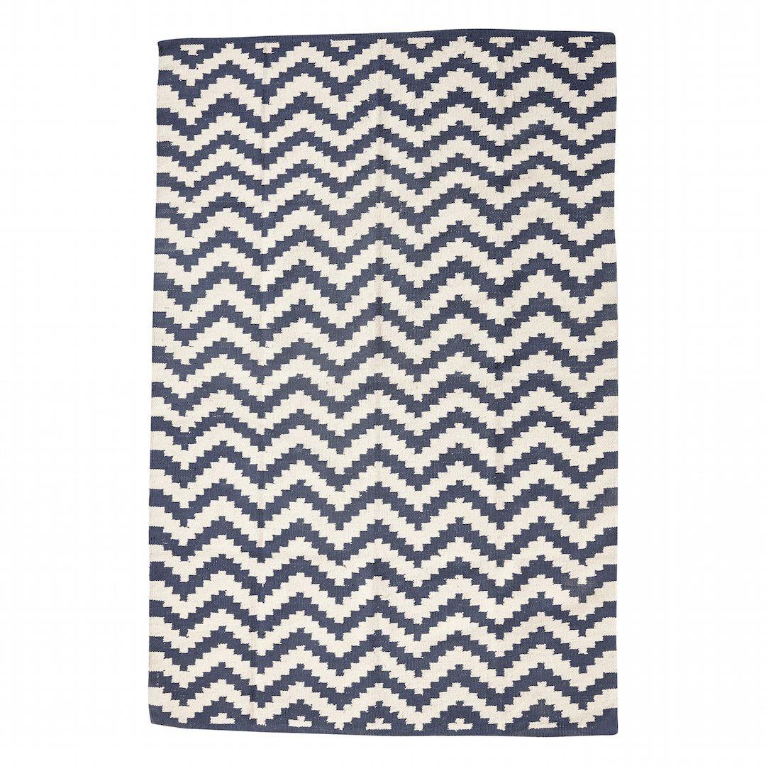 Teppich Nordisches Design Blau 120x180 Cm Grafische Wohndesigns