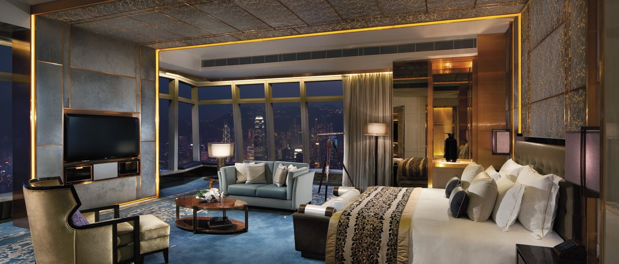 Enjoy the breathtaking Victoria Harbor from the