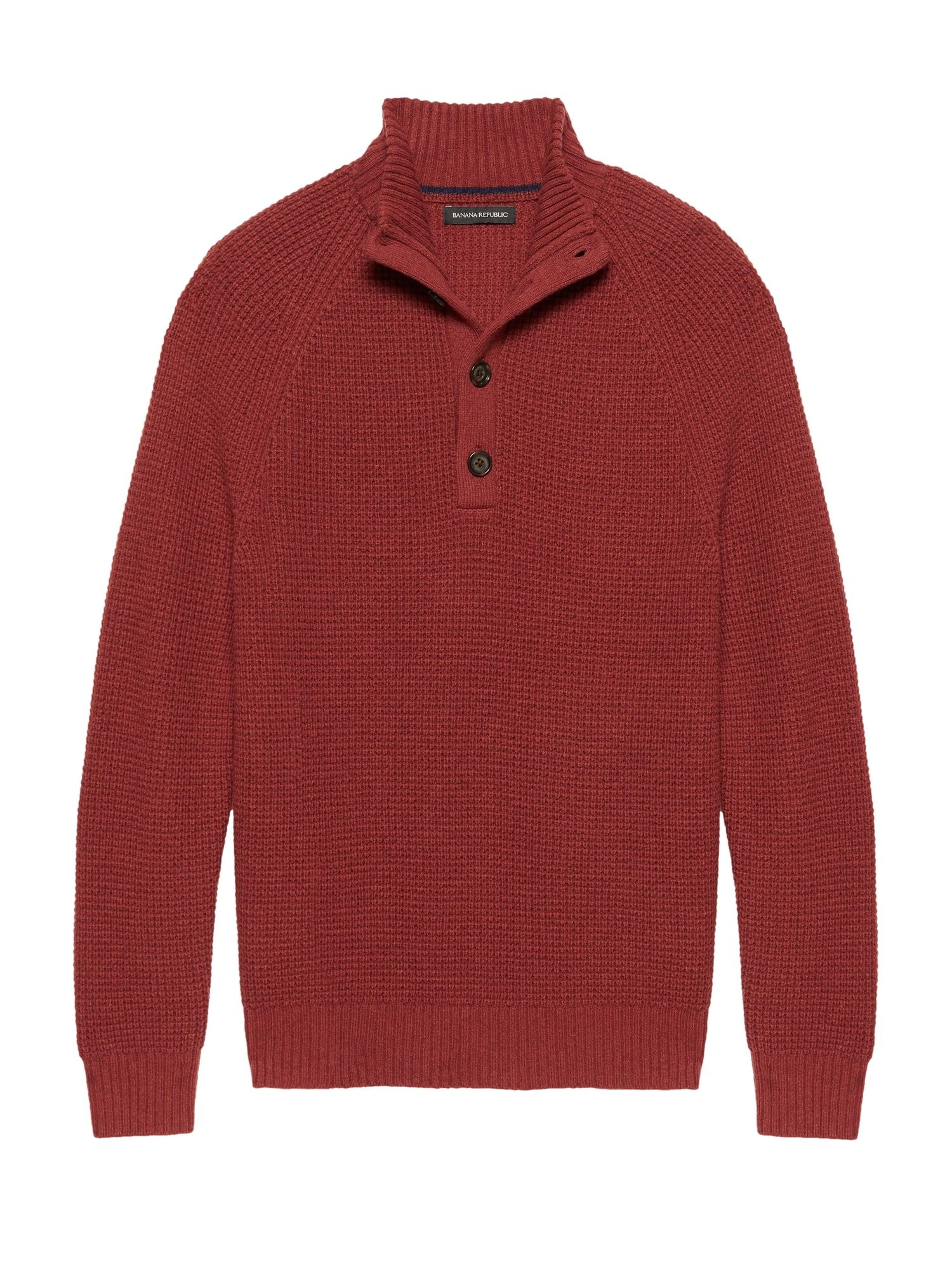 Italian Merino Blend Mock Neck Sweater Banana Republic Men Sweater Sweaters Mock Neck Sweater [ 2000 x 1500 Pixel ]