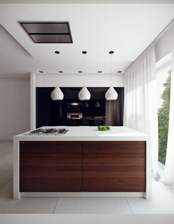 Freistehender Küchenblock lässt die Küche attraktiver aussehen ... | {Freistehender küchenblock modern 15}
