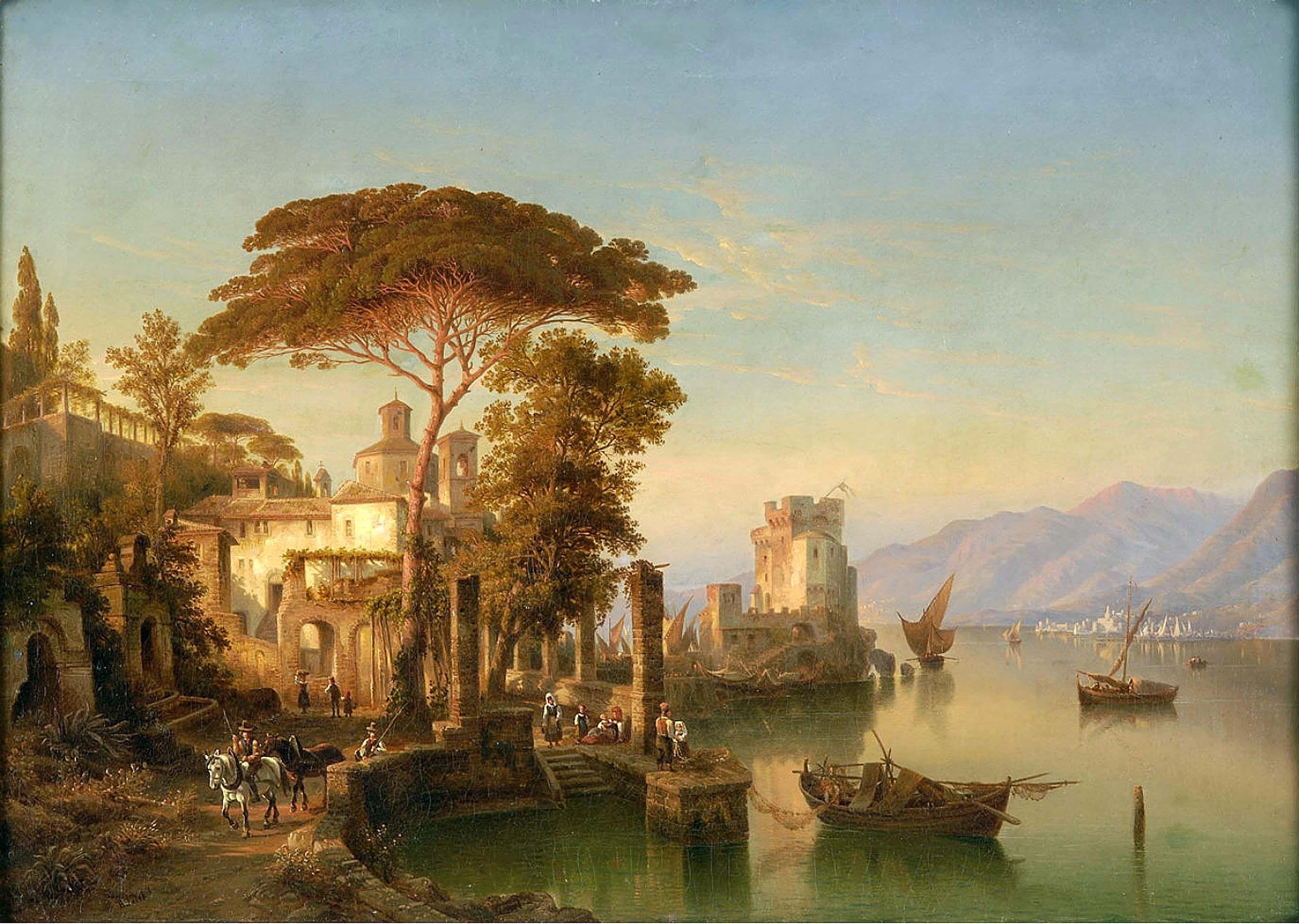 ヘンリー・ジャッケル (Henry Jaeckel)「Lake Como」