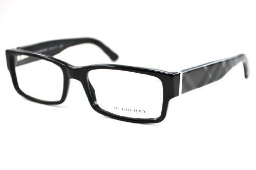 4477e32918def Eyeglasses Burberry BE2091 3001 SHINY BLACK DEMO LENS Burberry.  105.95.  Save 22%!