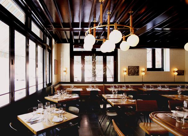 The dutch soho in new york is andrew carmellini s for Eclectic restaurant