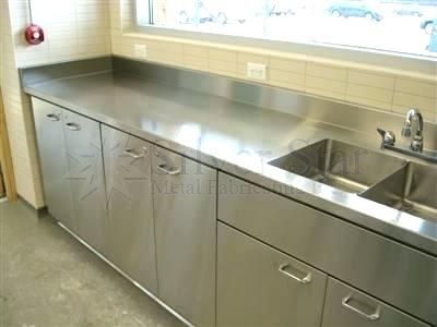 stainless steel commercial kitchen cabinets commercial kitchen ...
