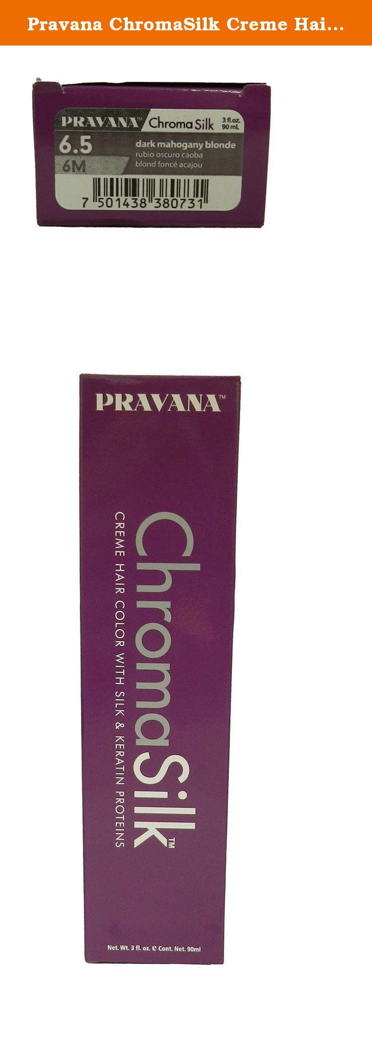 Pravana chromasilk creme hair color with silk keratin protein pravana chromasilk creme hair color with silk keratin protein 65 dark mahogany blonde what nvjuhfo Images