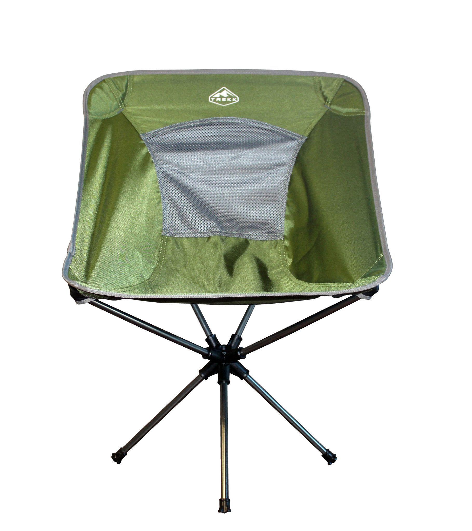 Trekk Ultralight Compact Folding Swivel Camping Chair