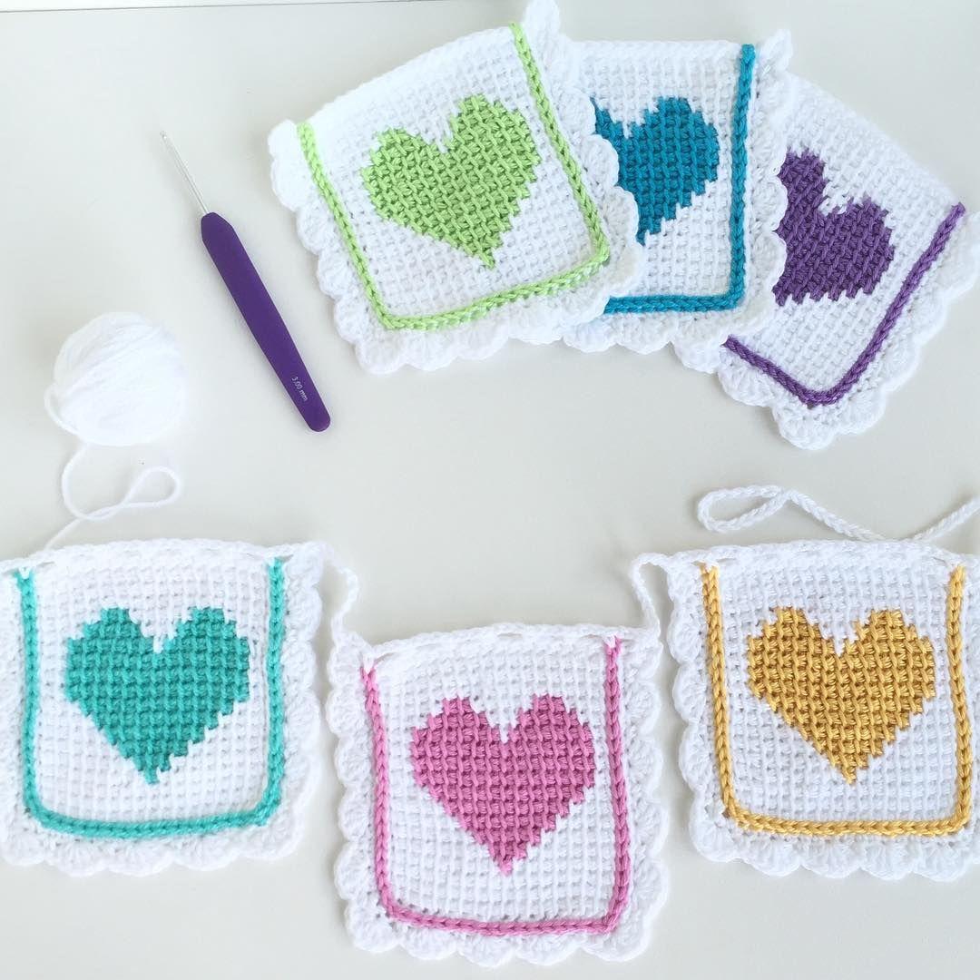 A sweet gift for a little cutie #tunisiancrochet #crochet ...
