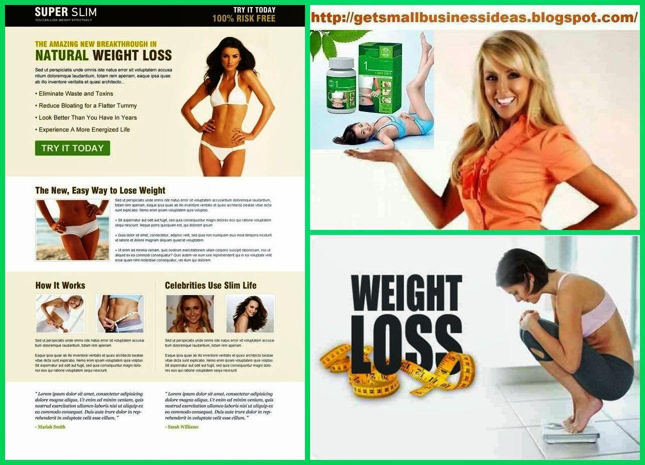 Weight Loss Business Ideas | Small Business Ideas | Pinterest ...
