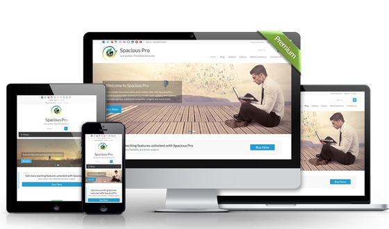 Download Spacious Pro – WordPress Theme | Download Free just in one