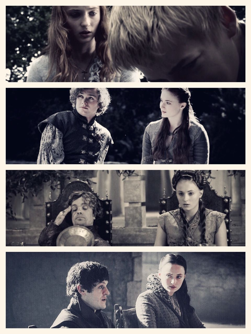 """No one will ever marry me for love"" #got"
